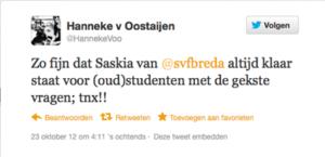 Tweet-Hanneke